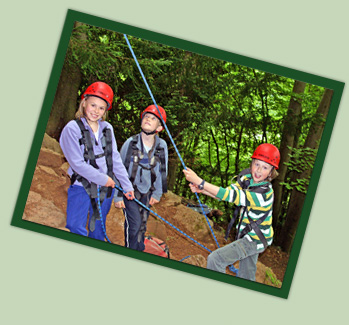 Youth on Symonds Yat - Forest Adventure